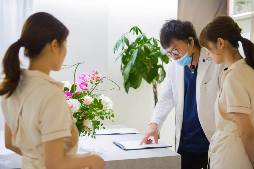 オーセント歯科クリニック 当院の一日の流れ